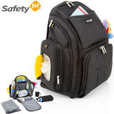 Safety 1st Safety BackPack Changer | 17 Compartments | Comfortable Hands-Free Carry