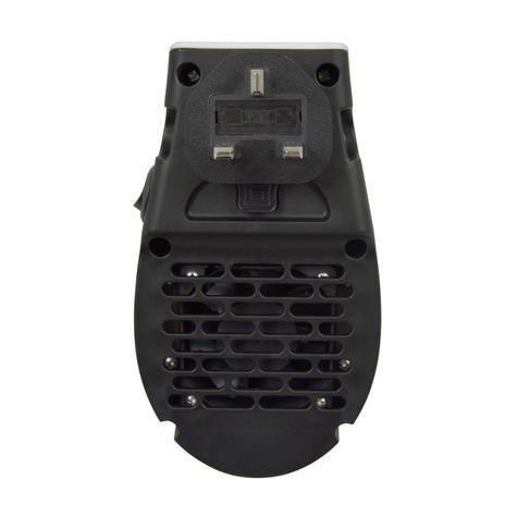 Lloytron Staywarm 500w Plugin Heater | Digital LED Display | Overheat Protect | F2210W Thumbnail 3