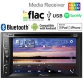 Pioneer Car Stereo | DAB+ Radio | 2-Din Multimedia Player | Bluetooth | iPod-iPhone | USB