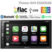 Pioneer Car Stereo | DAB+ Radio | CD/DVD Media Player | Bluetooth | iPod-iPhone-Android