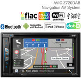 Pioneer Car Stereo + GPS Sat Nav AV System | DAB+ Radio | Media Player | Bluetooth | USB