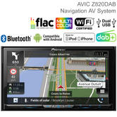 "Pioneer 7"" Car Stereo + GPS Sat Nav 