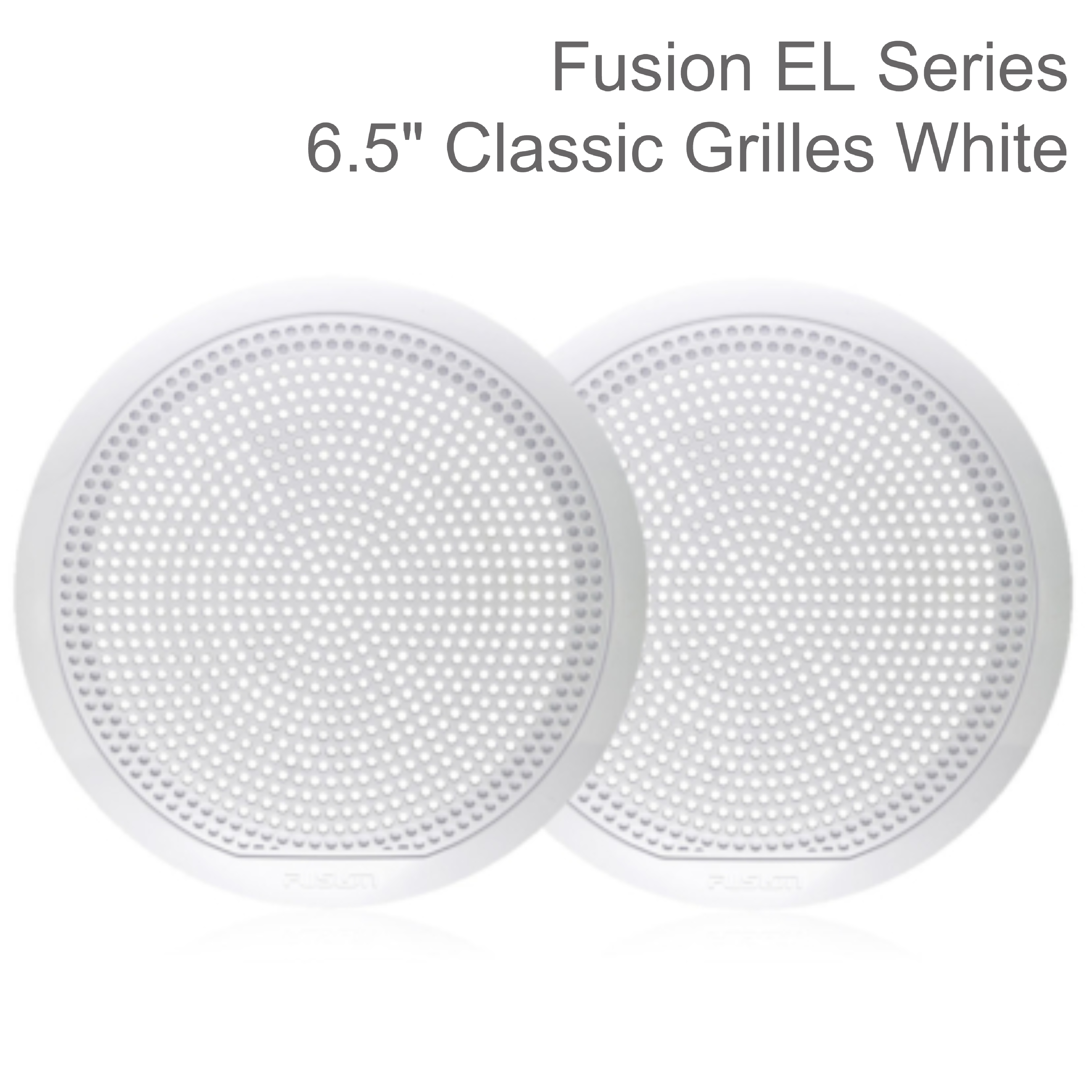 "Fusion 6.5"" Marine Speakers Replacement Grille Only - Pair 