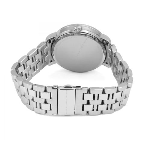 Marc Jacobs Fergus Ladies Watch | Day Date White Dial | Stainless Steel Strap | MBM8646 Thumbnail 2