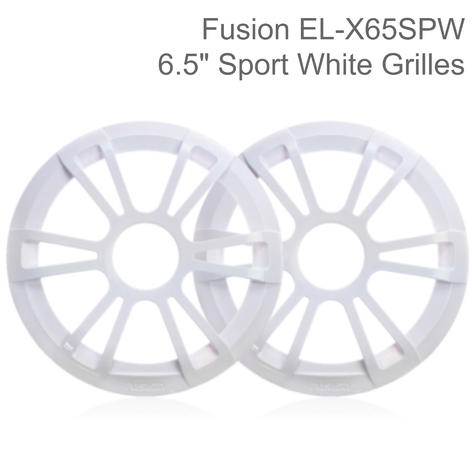 """Fusion 6.5"""" Marine Speakers Replacement Grilles Only - Pair 