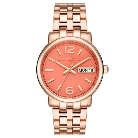 Marc Jacobs Fergus Ladies Watch | Peach Dial | Rose Tone Stainless Strap | MBM8648 Thumbnail 1