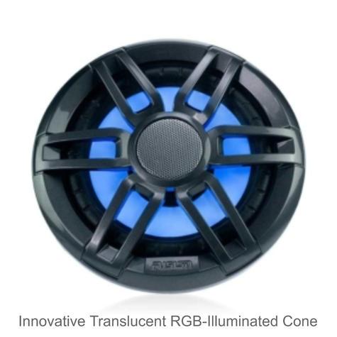 "Fusion XS-FL65SPGW 6.5"" 200W XS Series Marine Sports LED Speaker | IP65 | Grey & White Thumbnail 4"