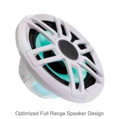 "Fusion XS-FL65SPGW 6.5"" 200W XS Series Marine Sports LED Speaker | IP65 | Grey & White Thumbnail 5"