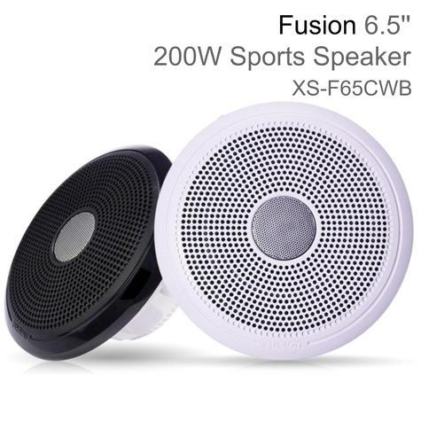 "Fusion XS-FL65SPGW 6.5"" XS Series Marine Sports LED Speaker | IP65 | Grey & White Thumbnail 1"