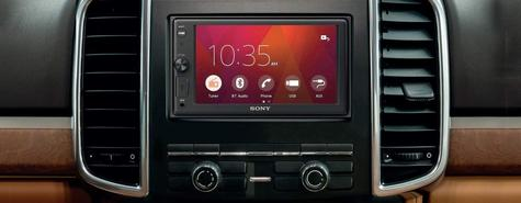 """Sony Car Stereo Player   2-Din Media Receiver   Bluetooth   USB/AUX   6.2"""" Touchscreen Thumbnail 7"""