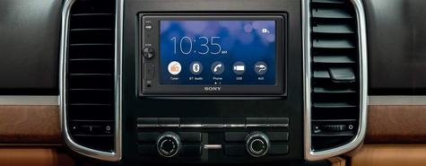 """Sony Car Stereo Player   2-Din Media Receiver   Bluetooth   USB/AUX   6.2"""" Touchscreen Thumbnail 8"""