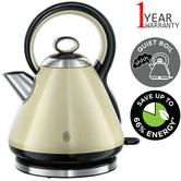 Russell Hobbs 21888 Legacy Quiet Boil Electric Kettle | 3000 W | 1.7 Litre | Cream | NEW