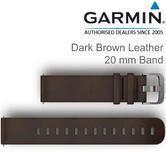 Garmin Quick Release 20mm Watch Strap Band | For Vivoactive 3-Vivomove HR | Leather