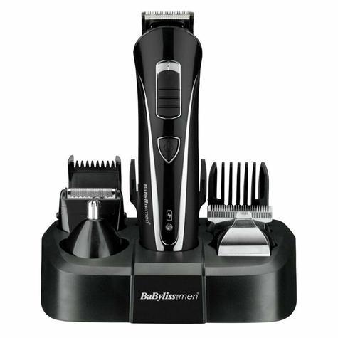 BaByliss Carbon Steel Multi Groomer For Men | Nose And Ear Hair Trimmer | Black | 7428U Thumbnail 3
