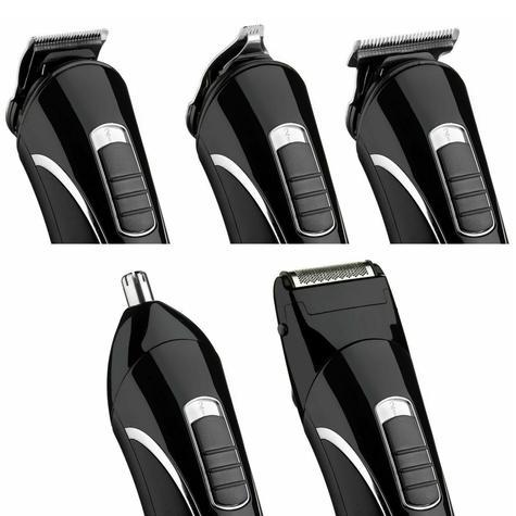 BaByliss Carbon Steel Multi Groomer For Men | Nose And Ear Hair Trimmer | Black | 7428U Thumbnail 4