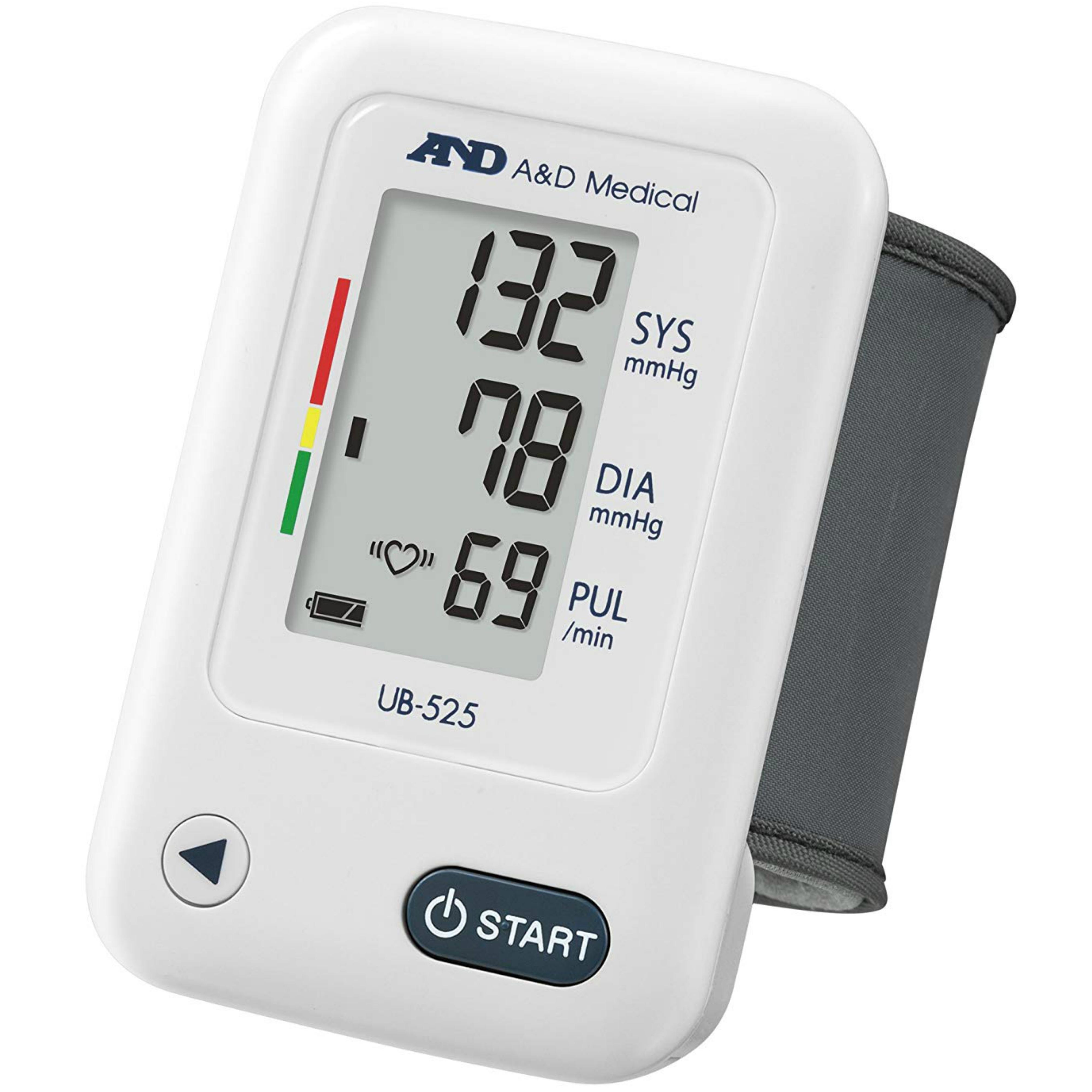 A&D Medical UB-525 Wrist Blood Pressure Monitor | IHB Indicator | Lightweight | White