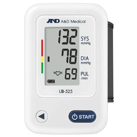A&D Medical UB-525 Wrist Blood Pressure Monitor | IHB Indicator | Lightweight | White Thumbnail 2