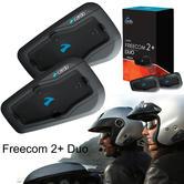 Cardo Scala Rider Freecom 2+ Duo Bluetooth Headset | Motorcycle Helmet Intercom