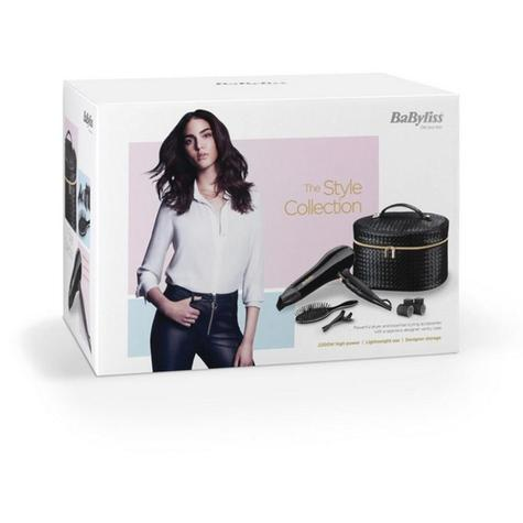 BaByliss Style Collection Dryer Gift Set | 2200W | 3 Heat 2 Speed Settings | 5737FGU Thumbnail 2