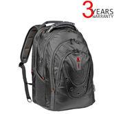 "Wenger 605501 Ibex 17"" Laptop Backpack with Tablet Pocket | Essentials Organiser | 26 Litres | Black Ballstic"