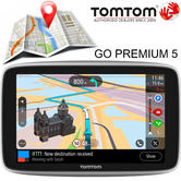 "TomTom Go Premium 5"" Car GPS Sat Nav 