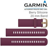 Garmin Quick Release 20mm Watch Strap Band | For Vivoactive 3/3 Music-Vivomove HR | Berry