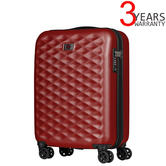 "Wenger 604337 Lumen 20"" Hardside Luggage Global Carry-On Red Suitcase 