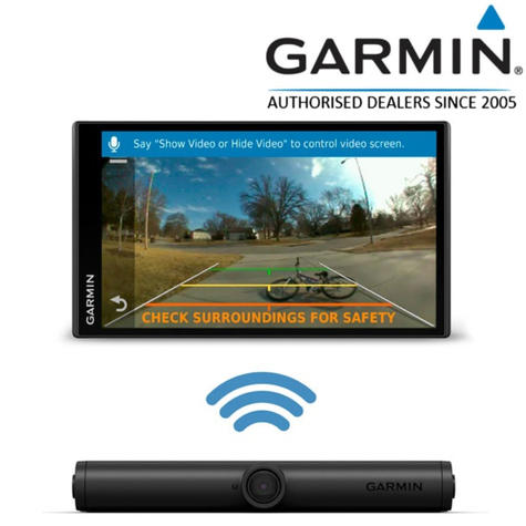 Garmin BC 40 Wireless Backup Camera | For DriveSmart 61 LMT-S_55 Digital Traffic Thumbnail 1