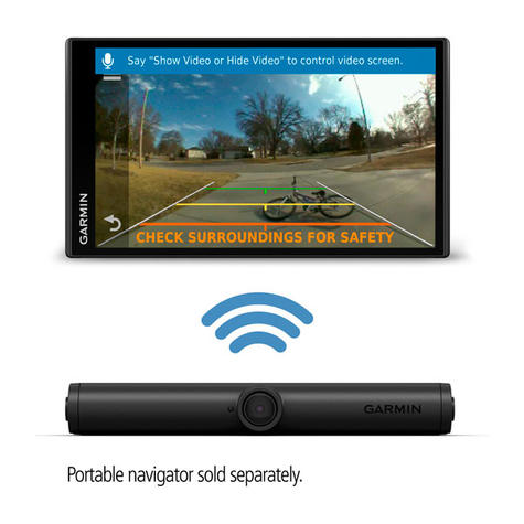 Garmin BC 40 Wireless Backup Camera | 720p | For DriveLuxe 51 LMT-S GPS Sat Nav | New Thumbnail 2