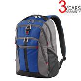 "Wenger 602660 Lycus 15.6"" Laptop Backpack/ Bag with Tablet Pocket | Essentials Organiser | 35 Litres | Blue"
