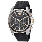 Emporio Armani Sigma Men's Casual Watch   Chronograph Dial   Silicone Strap   AR80003