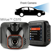 "Mio Mivue C570 2"" GPS Dash Camera 