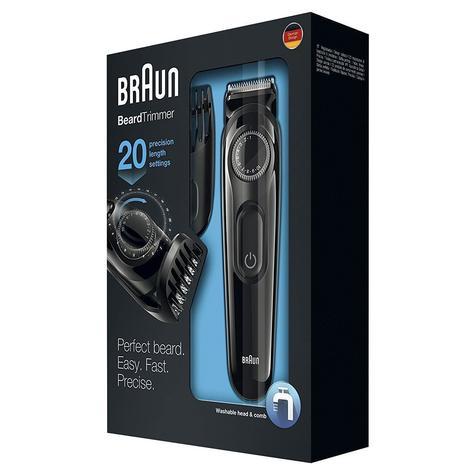 Braun Beard/Hair Cordless Rechargeable Trimmer Shaver | Adjustable Length | BT3022 Thumbnail 5