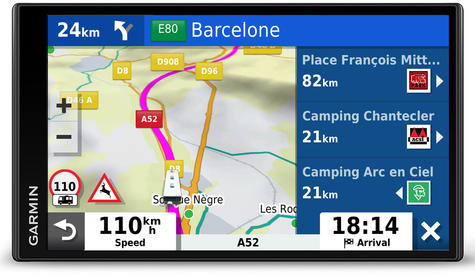 Garmin Camper 780LMT-D Motorhome Caravan GPS SatNav   Lifetime Map+Digital Traffic Thumbnail 6