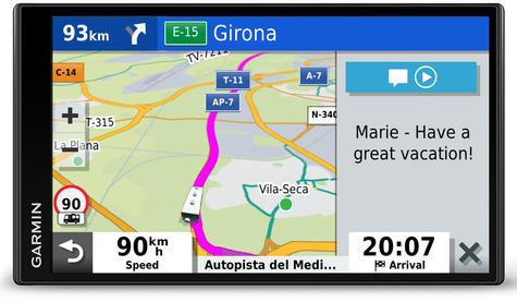 Garmin Camper 780LMT-D Motorhome Caravan GPS SatNav   Lifetime Map+Digital Traffic Thumbnail 7