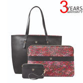 "Wenger 604807 MarieSol 14"" 4-in-1 Reversible Tote with Removable Sleeve + Wristlet 