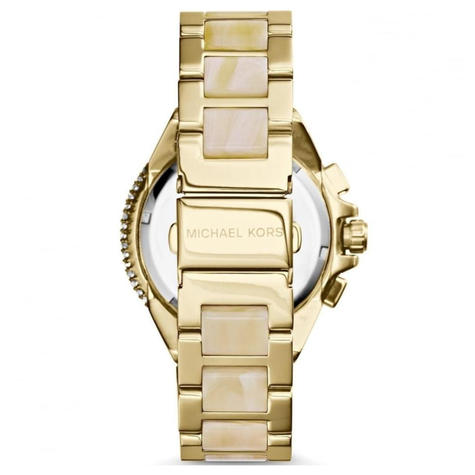 Michael Kors Camille Ladies Watch | Chronograph Dial | Acetace & Steel Strap | MK5902 Thumbnail 3