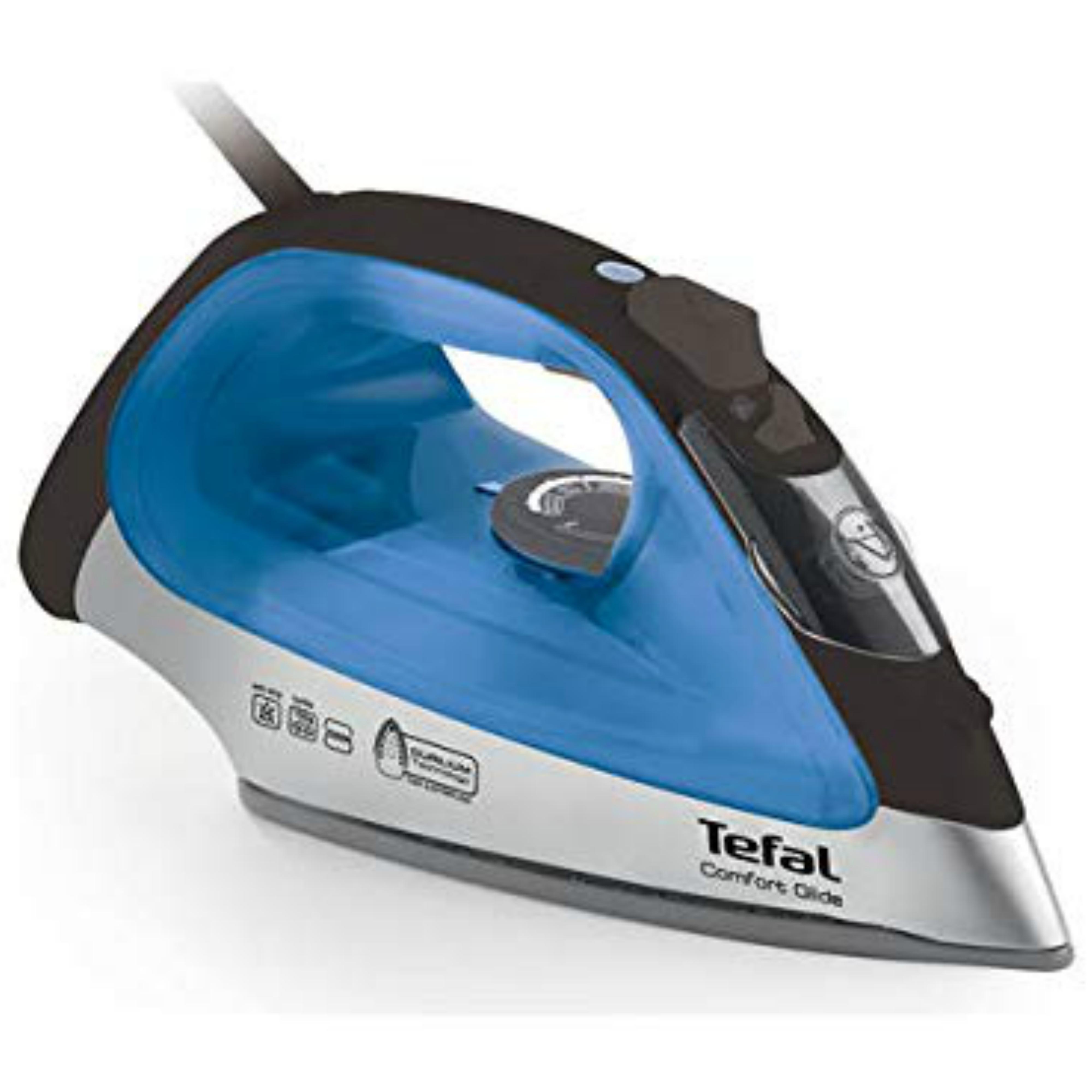 Tefal Ergonomic Ultraglide Steam Iron | Trigger Durilium Technology | 2500W | FV2677
