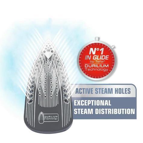 Tefal Ergonomic Ultraglide Steam Iron | Trigger Durilium Technology | 2500W | FV2677 Thumbnail 3