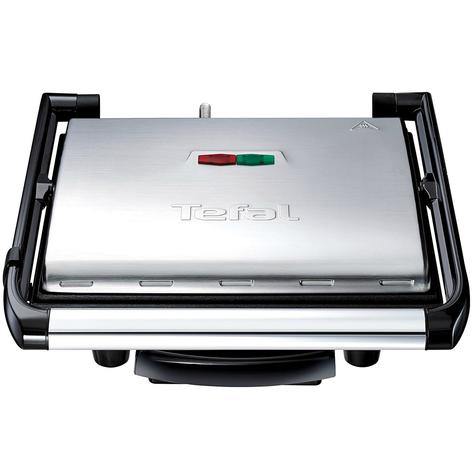 Tefal Inicio Multifunction Grill | 2000W | Easy Storage/Clean | Black-Silver | GC241D40 Thumbnail 1