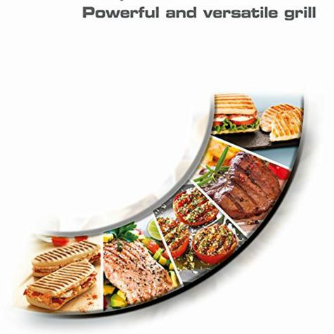 Tefal Inicio Multifunction Grill | 2000W | Easy Storage/Clean | Black-Silver | GC241D40 Thumbnail 4
