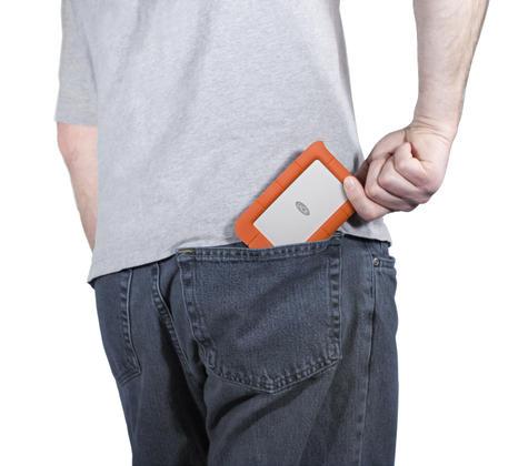 "Lacie Rugged Mini 2TB USB 3.0 2.5"" External Portable Hard Drive | For PC/ Mac | Storage Thumbnail 7"