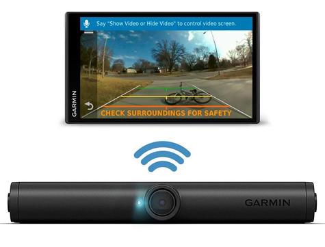 Garmin Camper 780LMT-D GPS Sat Nav+BC40 Wireless Camera | Lifetime Maps+Traffic Thumbnail 3