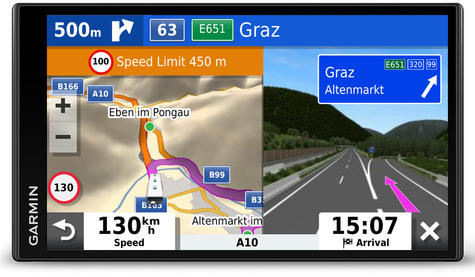 Garmin Camper 780LMT-D GPS Sat Nav+BC40 Wireless Camera | Lifetime Maps+Traffic Thumbnail 4