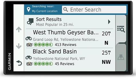 Garmin Camper 780LMT-D GPS Sat Nav+BC40 Wireless Camera | Lifetime Maps+Traffic Thumbnail 5