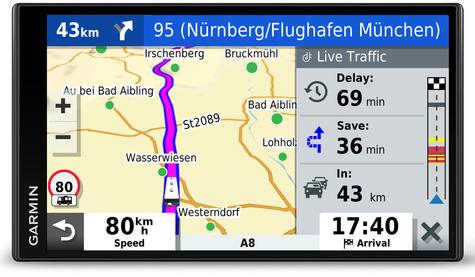Garmin Camper 780LMT-D GPS Sat Nav+BC40 Wireless Camera | Lifetime Maps+Traffic Thumbnail 6