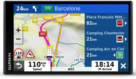 Garmin Camper 780LMT-D GPS Sat Nav+BC40 Wireless Camera | Lifetime Maps+Traffic Thumbnail 7