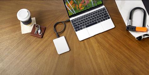 Lacie 1TB Mobile Drive | USB 3.0 Type-C Portable External Hard Drive | For PC & Mac | Storage Thumbnail 5