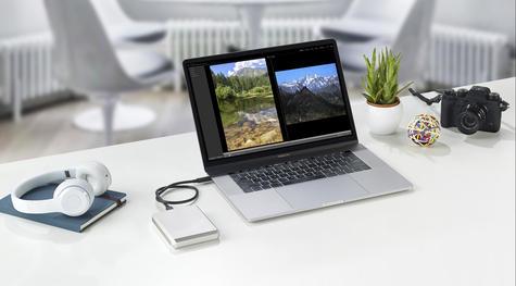 Lacie 5TB Mobile Drive | USB 3.0 Type-C Portable External Hard Drive | For PC & Mac | Storage Thumbnail 7