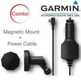 Garmin Low Profile Magnetic Mount+4m Vehicle Power Cable | For Dash Cam 45 55 65W